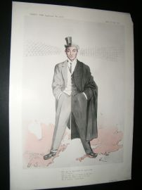 Vanity Fair Print 1904 Rufus Isaacs, Legal
